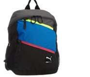 Puma Polyester Blue Casual Backpack (7215902)