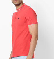 Save 20% T-shirt with Ribbed Sleeve Hems t-shirt