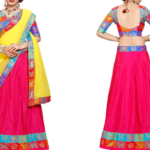 gorgeous art silk lehenga worth Rs. 2999 available only for Rs. 1499 only at LimeRoad