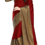 Save 80% off on designer gorgeous Florence Art Silk Saree