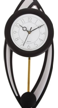 Smile2u Retailers Analog Wall Clock  (Black, Silver, With Glass) available on flipkart with a staggering discount of 60%, is now priced just Rs 778.