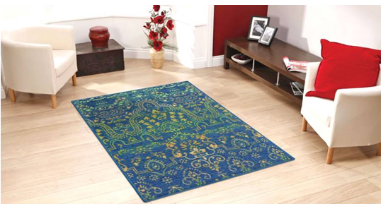 Status Multicolor Polyester Carpet (91 cm X 152 cm) on flipart at Rs 719