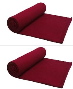 Story @ Home Fleece Double Blanket - Set Of 2 on homeshop18.com at just Rs 499