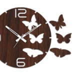 Studio Shubham Wood Wall Clock on homeshop18.com at just Rs 399