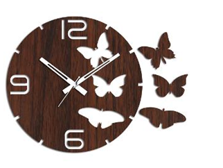Studio Shubham Wood Wall Clock