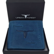 URBAN FOREST Blue Men's Wallet now available on Amazon.com at just Rs 599