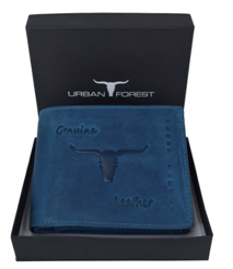 URBAN FOREST Blue Men's Wallet at just Rs 599
