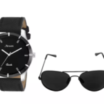 Watch and Sunglass combo at 63% off