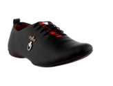 Wonker Casual Black Party Wear Shoes
