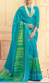 gorgeous designer art silk saree worth Rs. 5799 available only for a throwaway price of Rs. 2320 at LimeRoad
