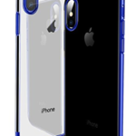iPhone X Cases – Amozo® Ultra Thin Electroplated TPU Silicon Shockproof with All Side Protection Case Cover for iPhone X (iPhone 10) – Blue on amazon at just Rs 499