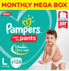pampers monthly mega box