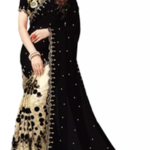 rock the party with this gorgeous sari worth Rs. 1999 available only for Rs. 1187 only at Voonik