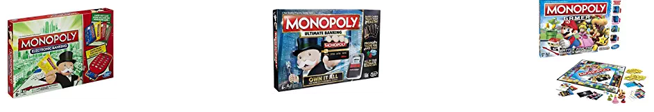 Monopoly game at amazon