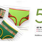 Buy Any 5 Panties @ Rs 599 from Clovia