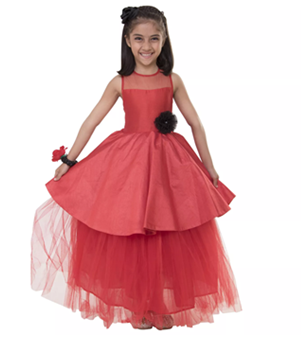 beautiful kids party dress worth Rs. 2999 at Rs. 1999 only