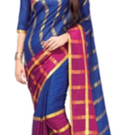 rock the party with this gorgeous cotton-silk sari worth Rs. 2395 available only for Rs. 479 only at HomeShop18