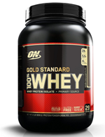 Optimum Nutrition (ON) Gold Standard 100% Whey Protein Powder - 2 lbs, (Double Rich Chocolate)
