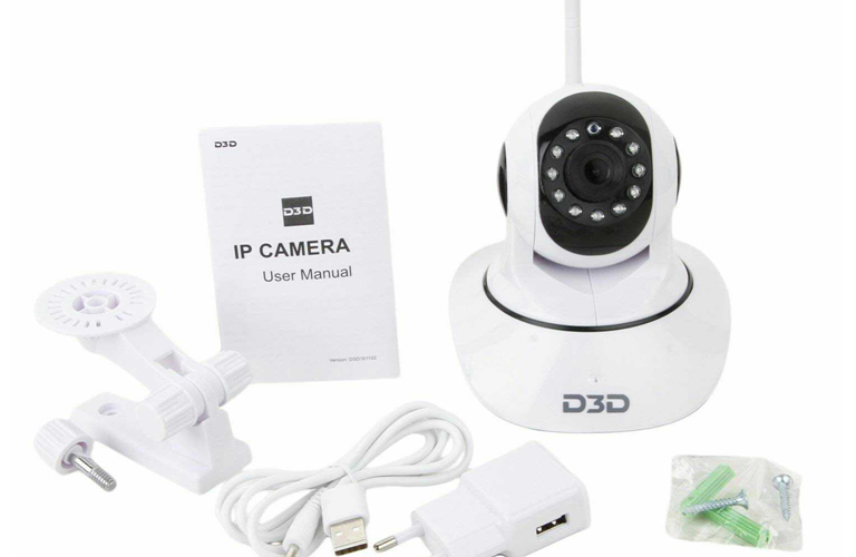 Top 1 D3D D8810 Wireless HD IP WiFi CCTV Indoor Security Camera