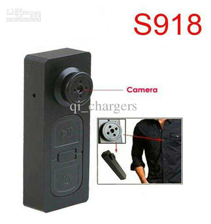 Top 4 AT S918 Mini HD Button Camera