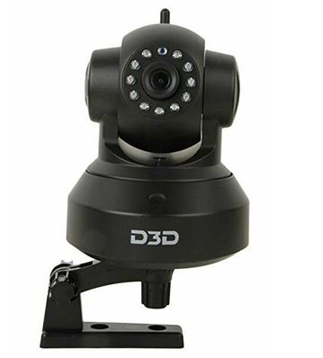 Top 6 D3D D8809 Wireless HD IP WiFi CCTV Indoor Security Camera