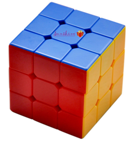 Toyshine High Stability Sticker less - 3X3X3 Speed Cube, Multi Color