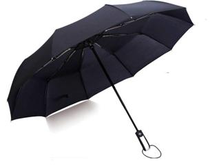 Umbrella for Men Women 3 Fold Rainy Season Ultralight Umbrella