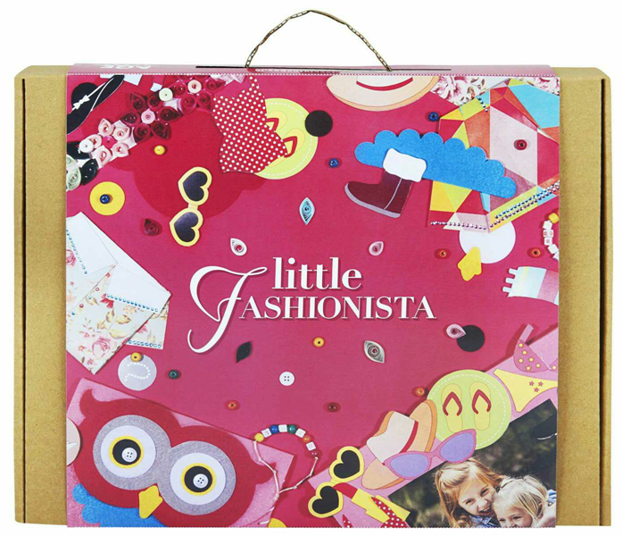 Art and Craft Felt Kit for Girls - Little Fashionista 3-in-1 DIY Fun Activities for Girls Ages 7-10