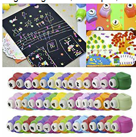 Magicwand DIY Art and Craft Punch Kit for School Projects