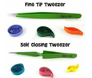 Quill On Quilling Tweezers Tools