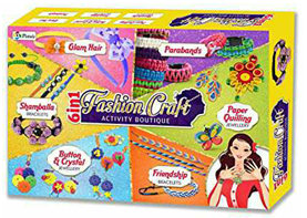 SARTHAM, Fashion Craft - 6 in 1 Activity Boutique, Age 5+